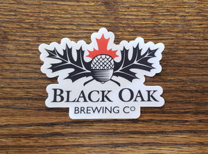 Black Oak Die-cut Sticker