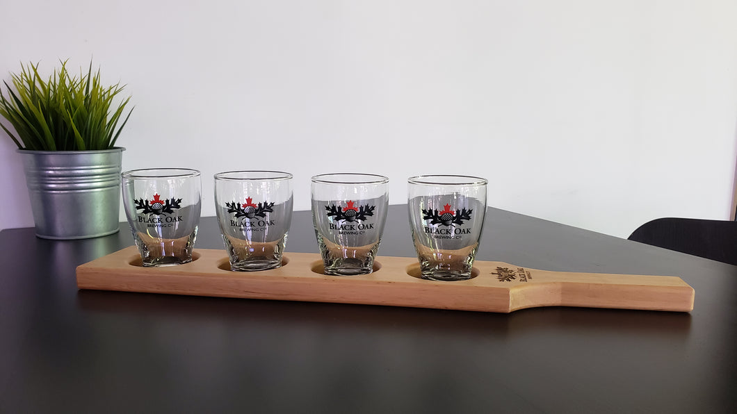 Flight Set (4 glasses + paddle)