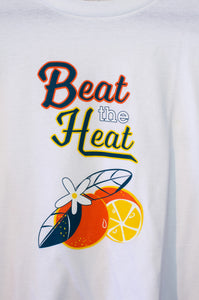 Beat the Heat White Unisex T Shirt