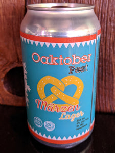 Oaktoberfest Marzen Lager Case 24x355mL Can Limited Seasonal
