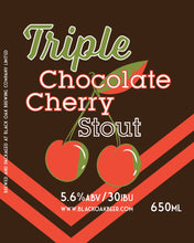 Load image into Gallery viewer, Triple Chocolate Cherry Stout - 650mL Bottle