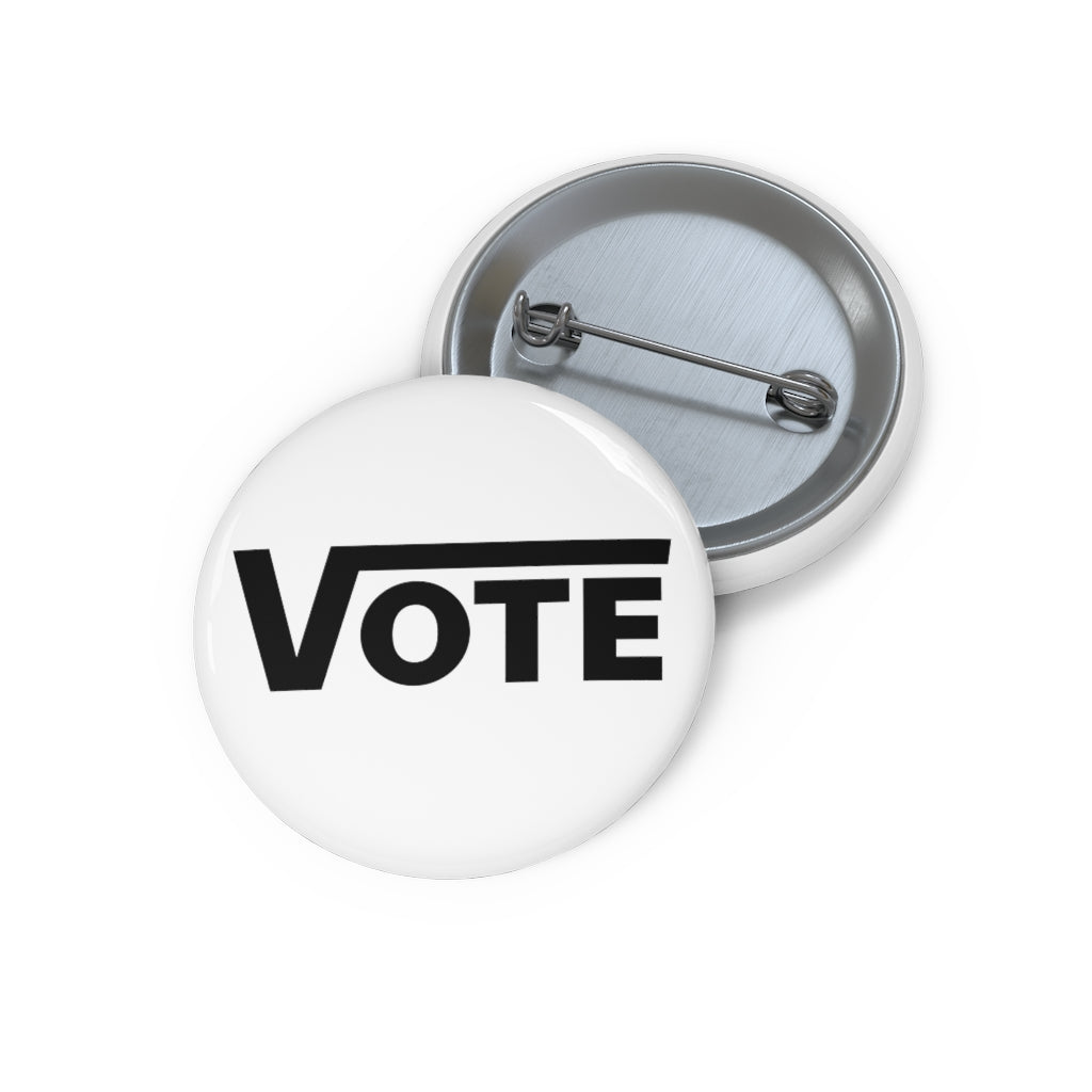 White Vote 2020 Button