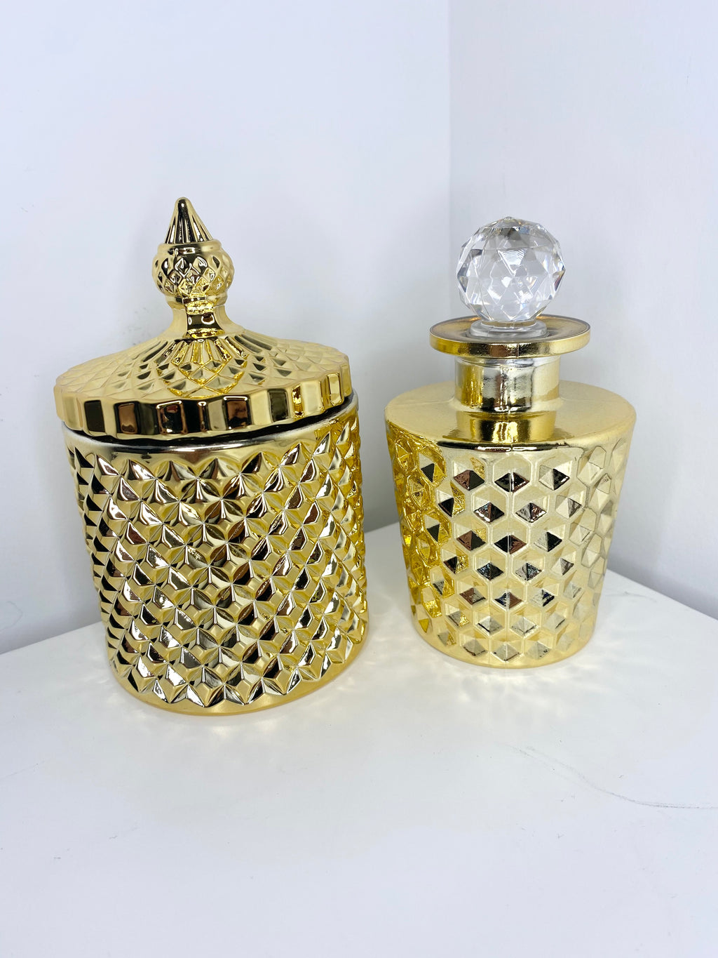 Gold Diamond Reed Diffuser