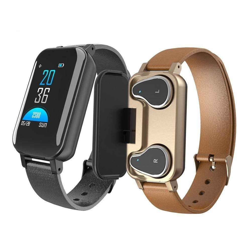 Wow Gadget Shop 2-In-1 Wireless Bluethooth Headset & Smart Bracelet