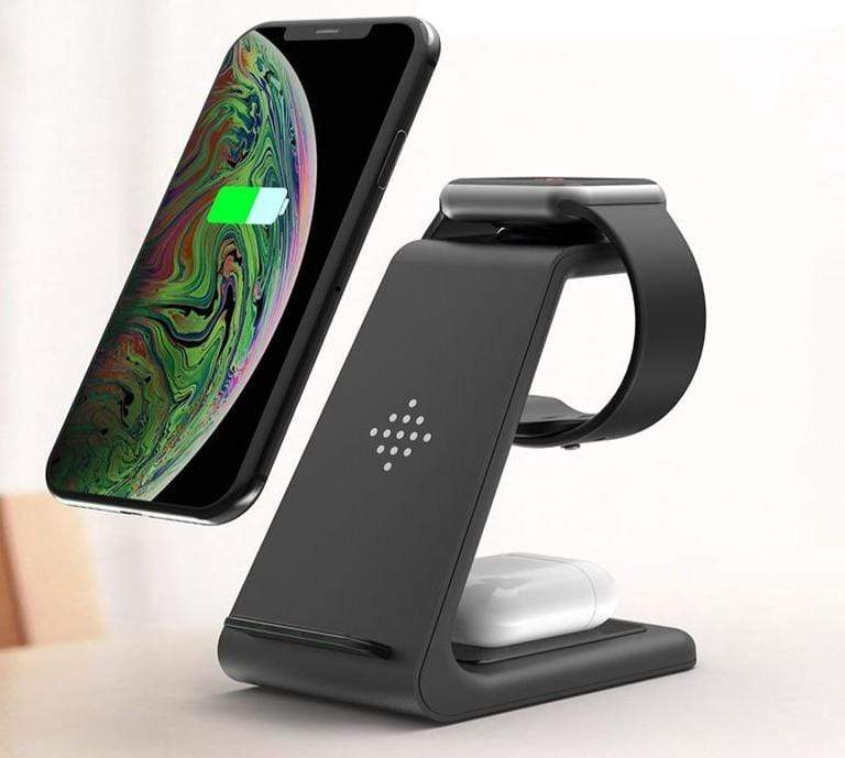 Wow Gadget Shop 3 in 1 Wireless Charger Station