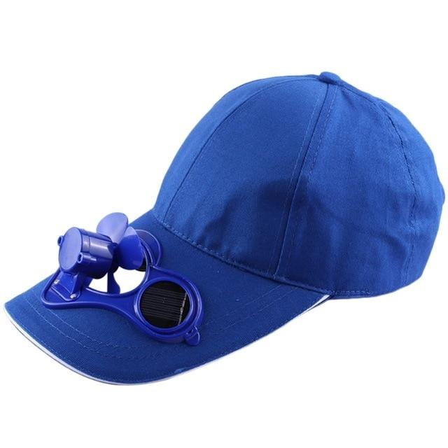 Wow Gadget Shop Blue SOLAR POWERED COOLING HAT