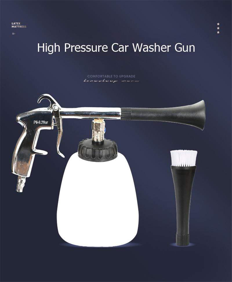 Wow Gadget Shop Car High Pressure Washer Automobiles Water Gun Car Dry Cleaning Gun Deep Clean Washing Accessories Tornado Cleaning Tool Styling