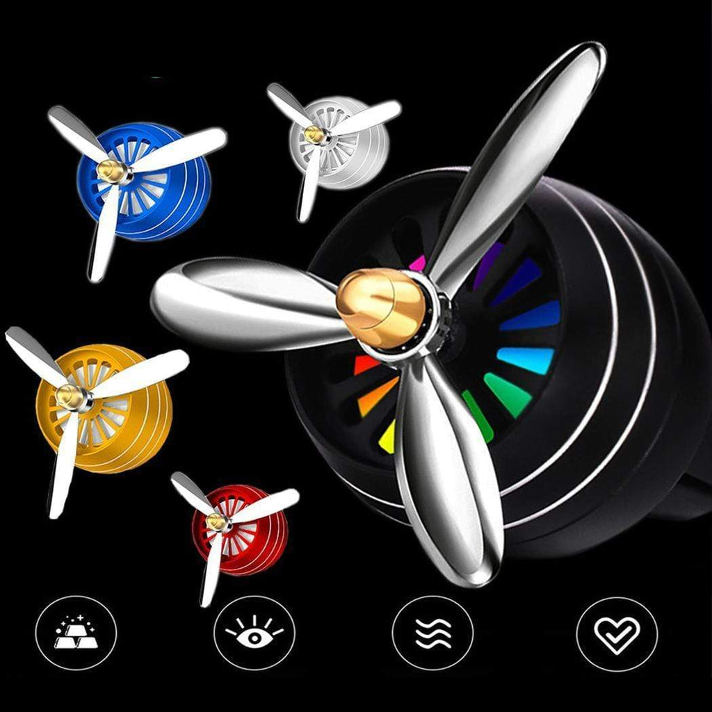 Wow Gadget Shop Car Mini Fresh Propeller