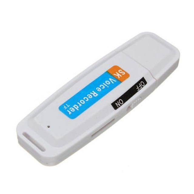 Wow Gadget Shop China / White / 32GB 2020 New arrival U-Disk Digital Audio Voice Recorder Pen charger USB Flash Drive up to 32GB Micro SD TF High Quality J25