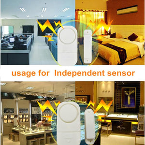 Wow Gadget Shop Door And Window Burglar Alarm 4PCS