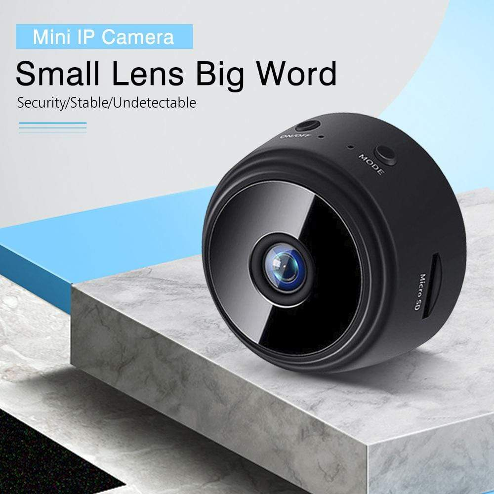 Wow Gadget Shop Mini IP Camera Wireless WiFi HD 1080P Hidden Home Security Cam Night Vision