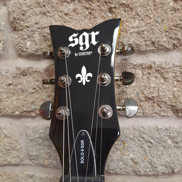 Solo-6 SGR by Schecter with Hard case