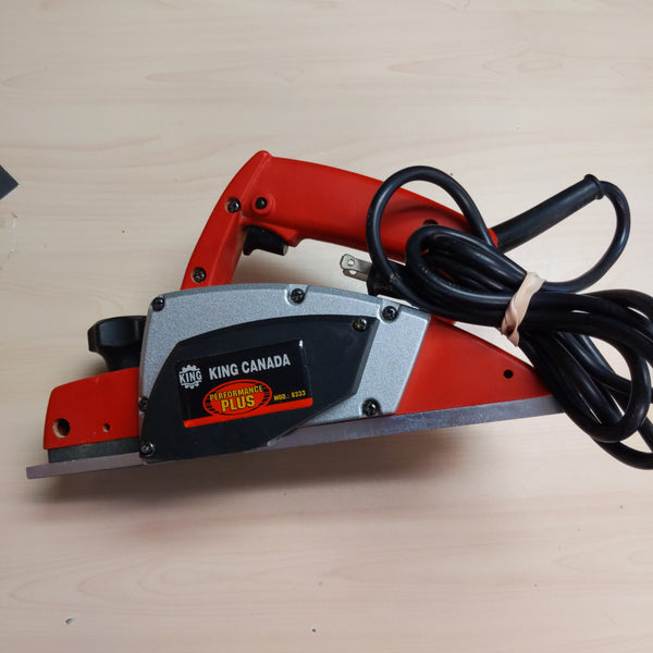"King Canada 3 1/4"" Planer - 8333 - CURBSIDE ONLY"