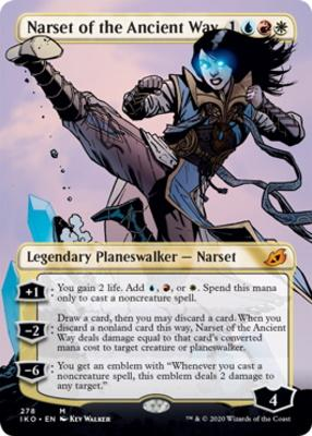 Narset of the Ancient Way - Borderless - NM