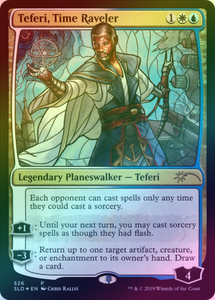 Teferi, Time Raveler - SECRET LAIR PROMO - NM
