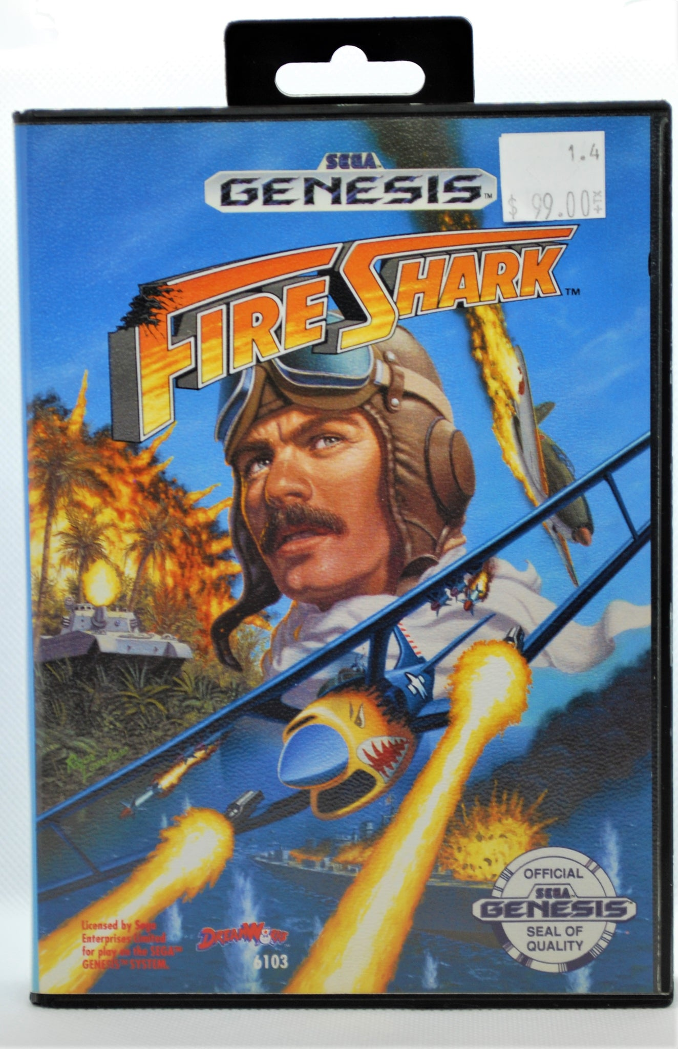 Fire Shark - CIB
