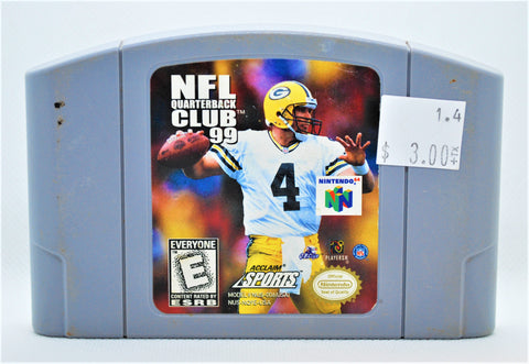 NFL Quarterback Club 99 - LOOSE