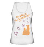 "Damen Organic Tank-Top ""Heart"""