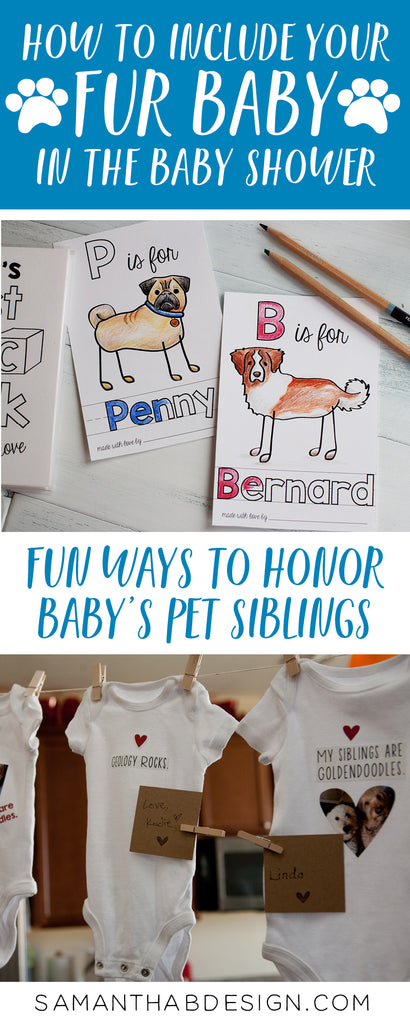 Ideas for honoring your pets before baby arrives
