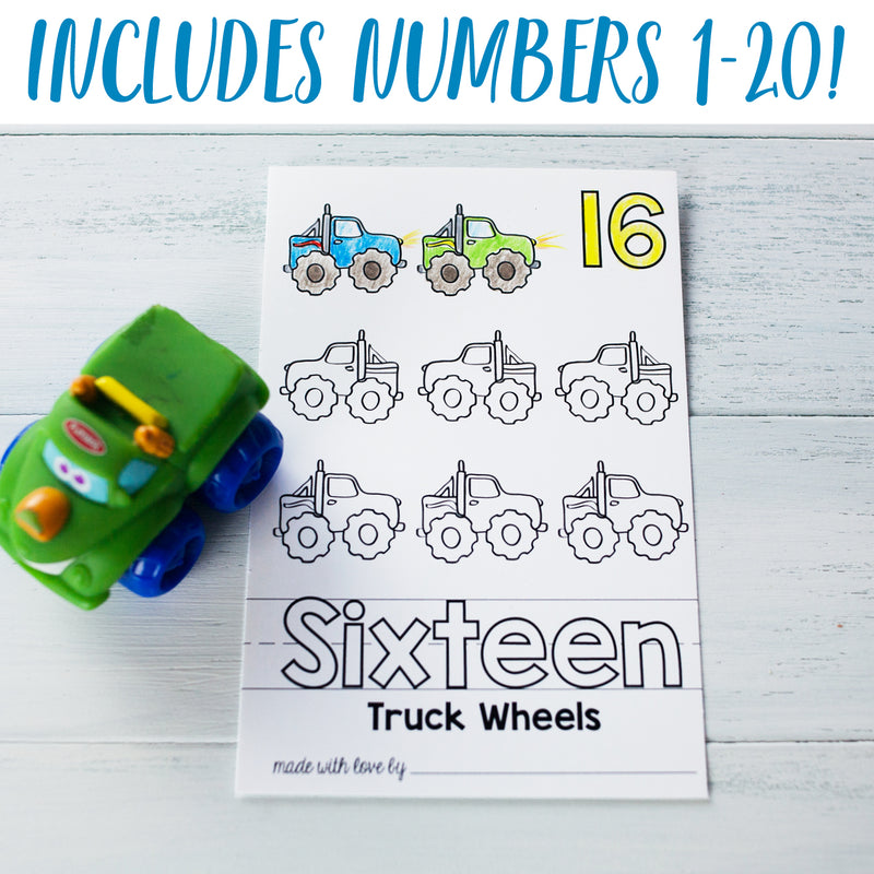 "Baby's First 123 Book Printable PDF Download | 8.5x11"" Final Size"