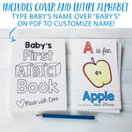 "ABC Book Printable PDF Download | 4x6"" Final Size"