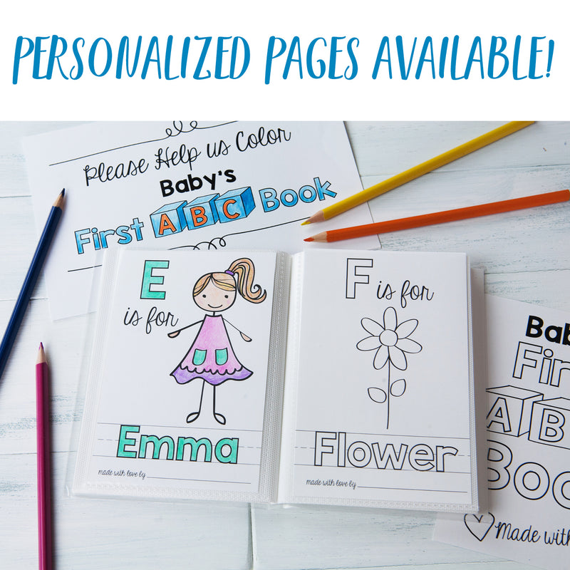 "ABC Book Printable PDF Download | 5x7"" Final Size"