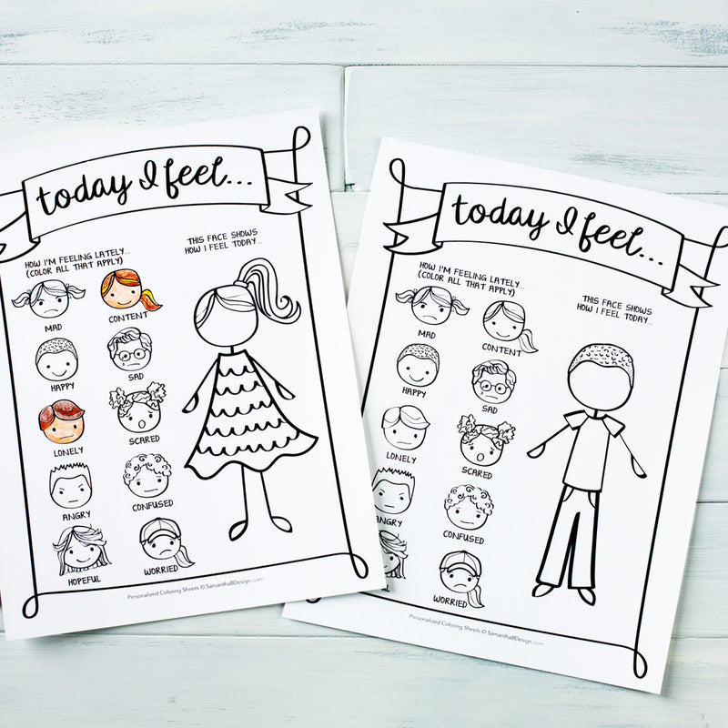 "Kid's All About Me Journal Keepsake | PDF Download | 8.5x11"" Final Size"