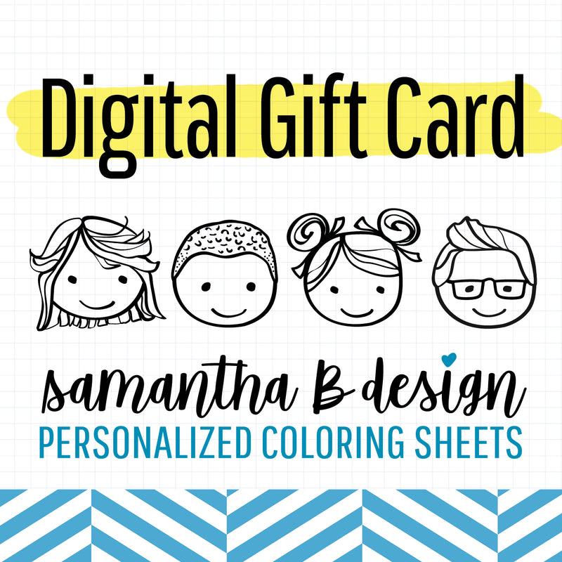 Samantha B Design Gift Card