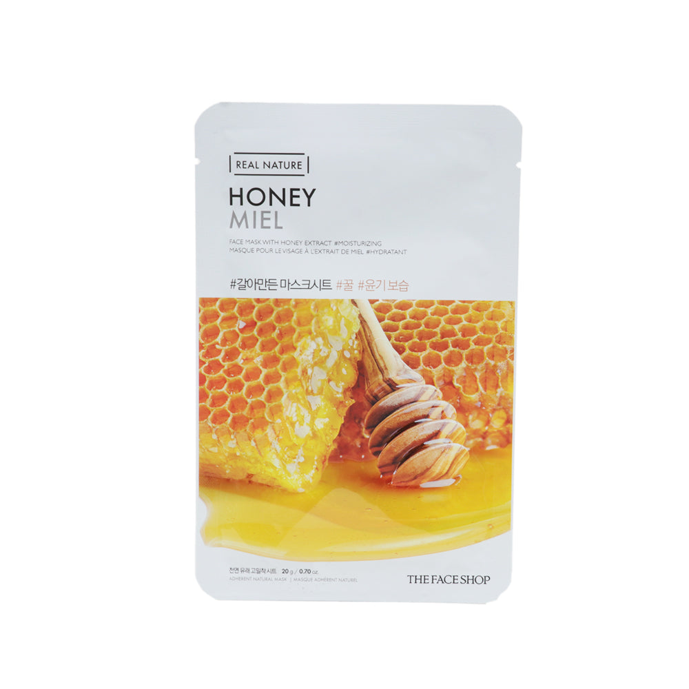 Real Nature Mask Sheet Honey