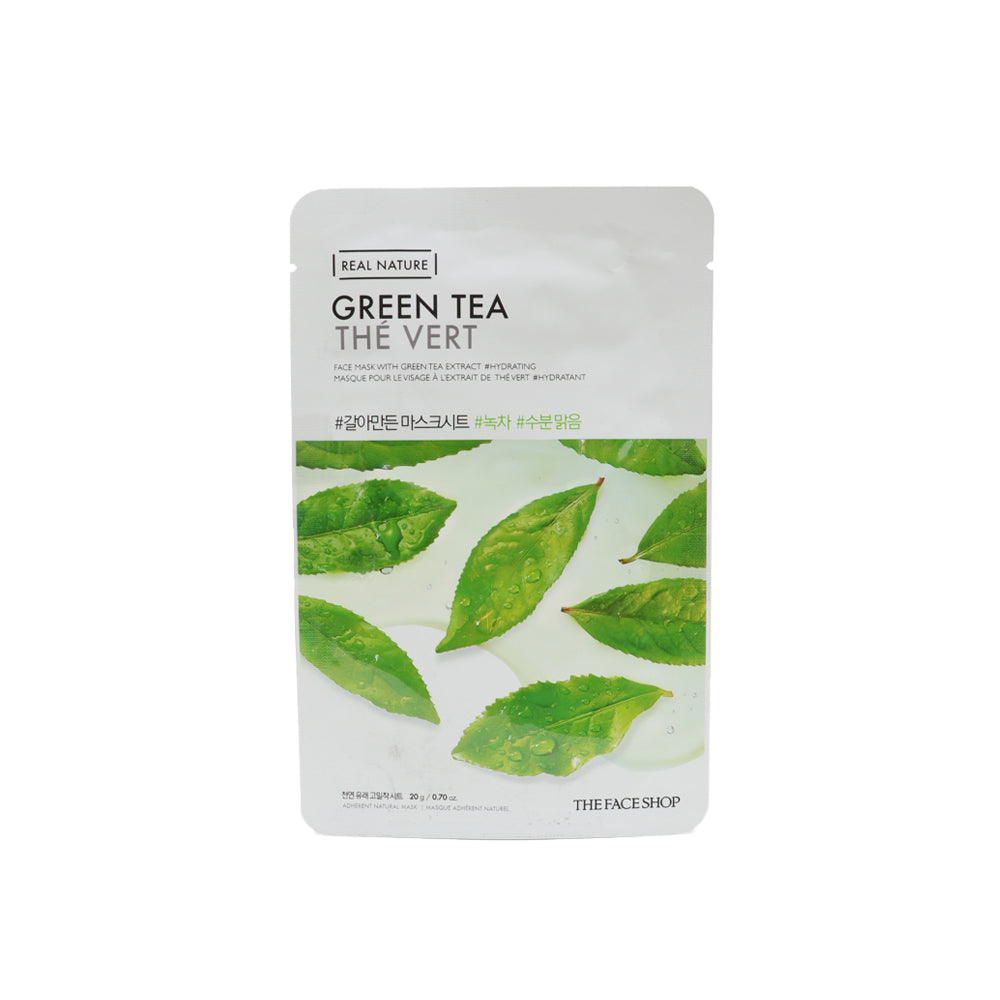 Real Nature Mask Sheet Green Tea