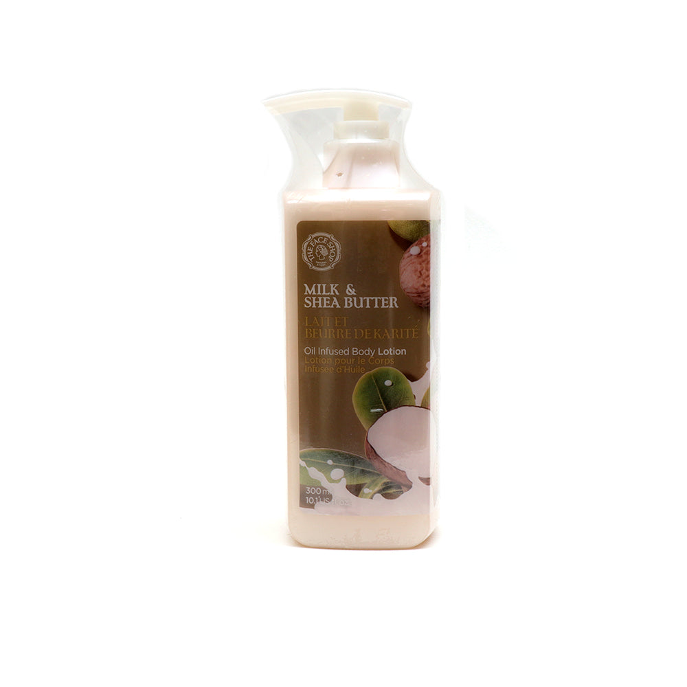 Milk Shea Butter Oil Infused Bodycare Lotion