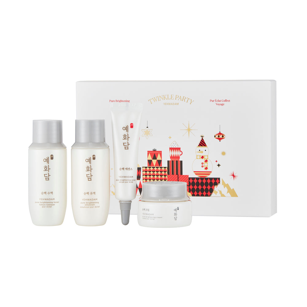 Yehwadam Pure Brightening Travel Kit