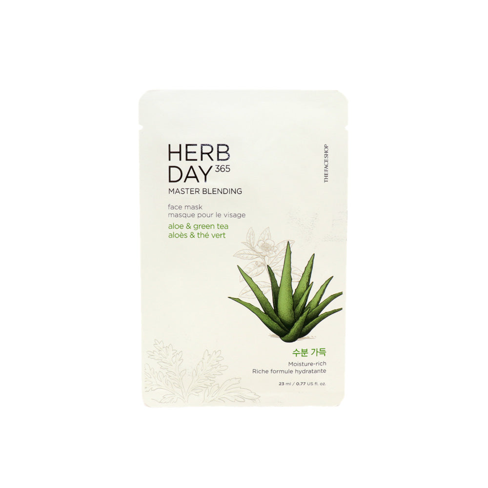 Herb Day Aloe & Greentea Mask