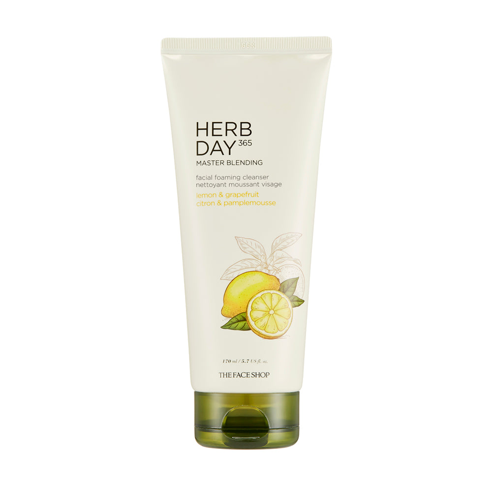 Herbday 365 Master Blending Facial Foaming Cleanser Lemon & Grapefruit
