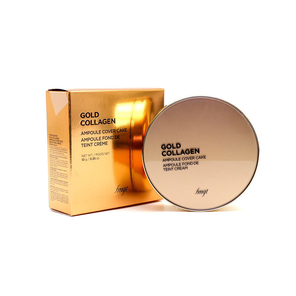 Gold Collagen Ampoule Cover Cake SPF50 N203-Natural Beige