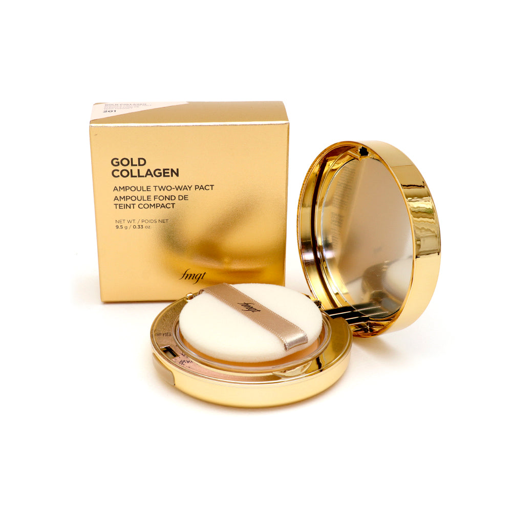 Gold Collagen Ampoule Two-Way SPF30 V201-Apricot Beige
