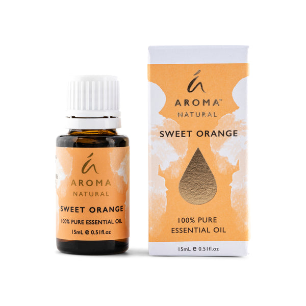 Aroma Natural Sweet Orange 100% Pure Essential Oil 15mL