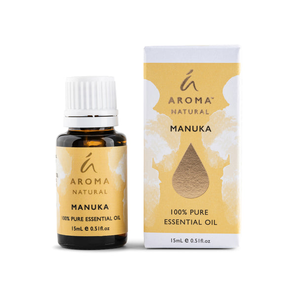 Aroma Natural Manuka 100% Pure Essential Oil 15ml