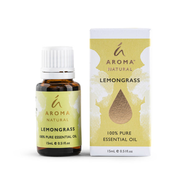 Aroma Natural Lemongrass 100% Pure Essential Oil 15mL