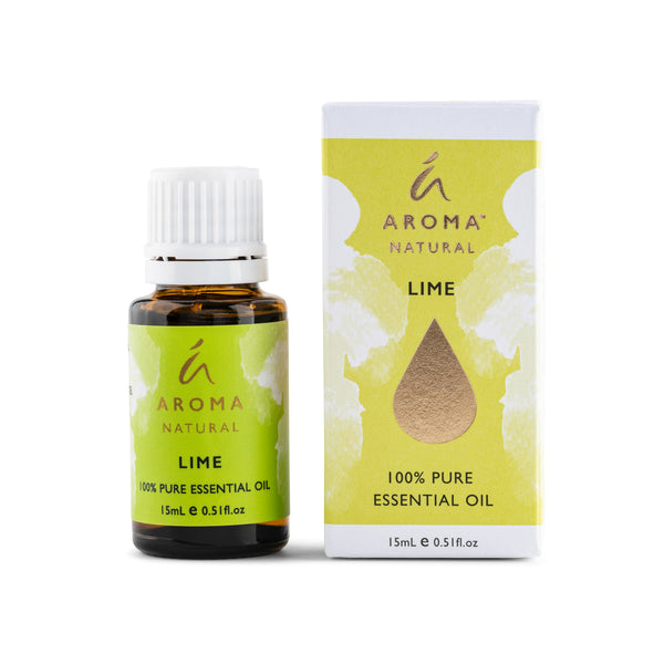 Aroma Natural Lime 100% Pure Essential Oil 15mL