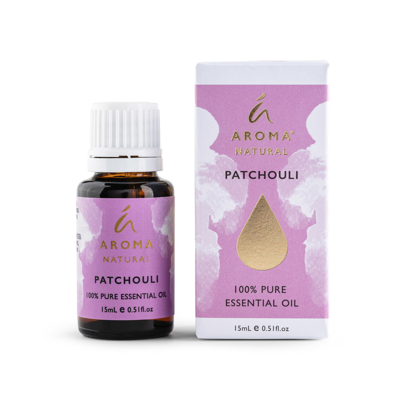 Aroma Natural Patchouli 100% Pure Essential Oil 15ml