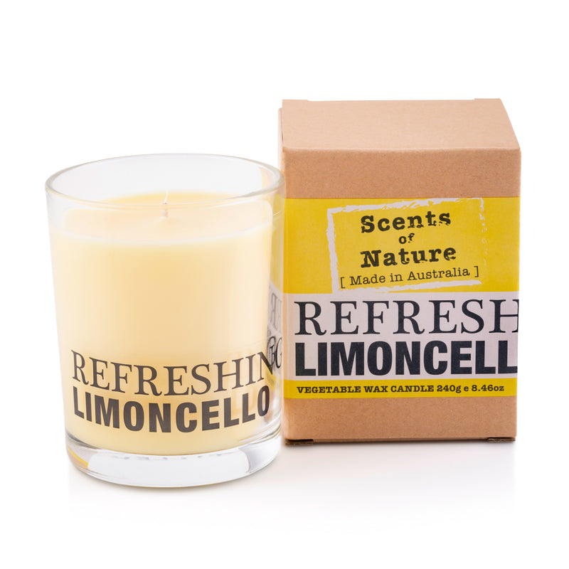 Refreshing Limoncello Soy Candle 240g