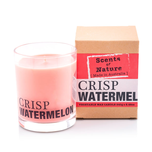 Crisp Watermelon Soy Candle 240g