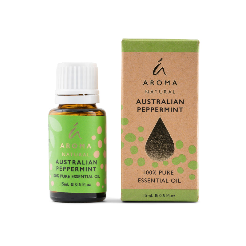 Aroma Natural Australian Peppermint Essential Oil 15mL