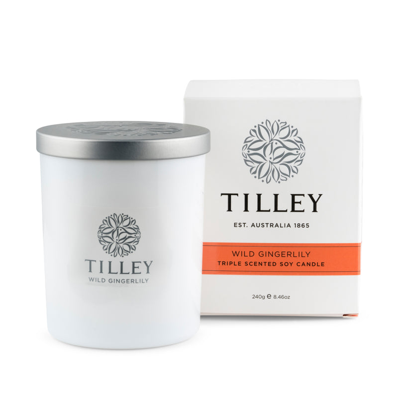 Wild Gingerlily Soy Candle 240g / 45 Hour