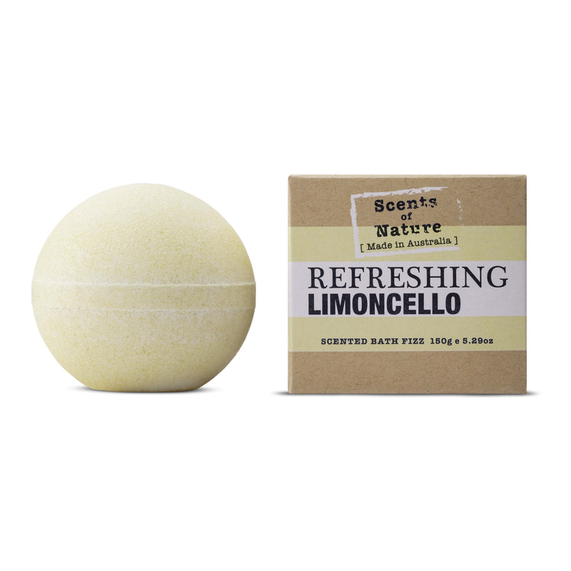 Scents of Nature Bath Fizz Limoncello 150g