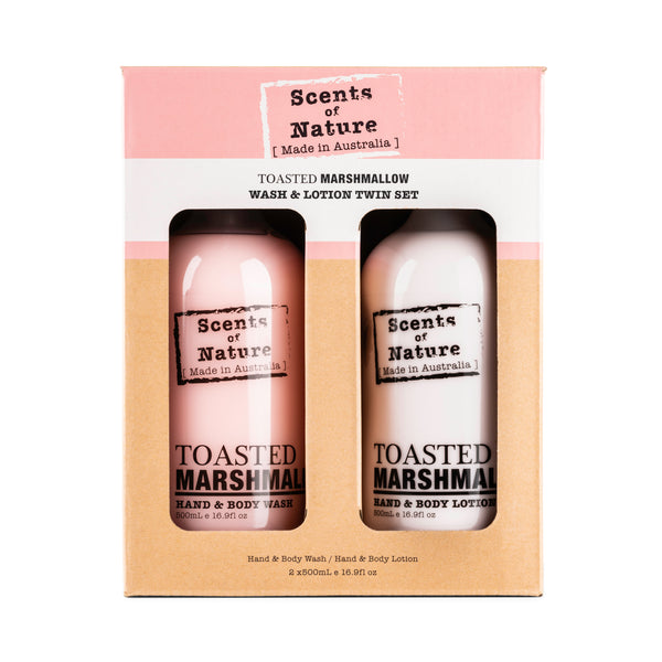 Toasted Marshmallow Wash & Lotion Gift Pack 2 x 500mL