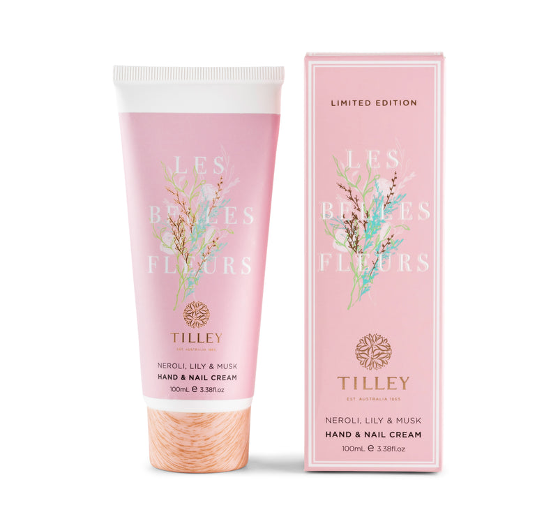 Limited Edition Les Belles Fleurs Deluxe Hand & Nail Cream 100mL