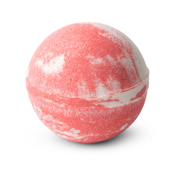 Pink Lychee Scented Bath Bomb Swirl 150g
