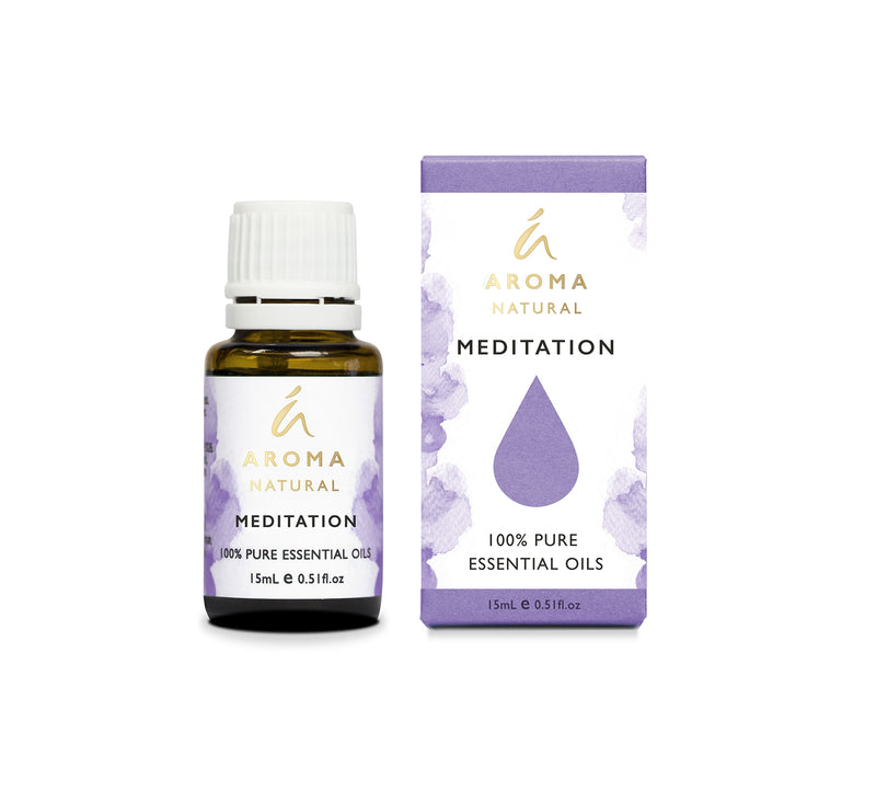 Aroma Natural Meditation Essential Oil Blend 15mL